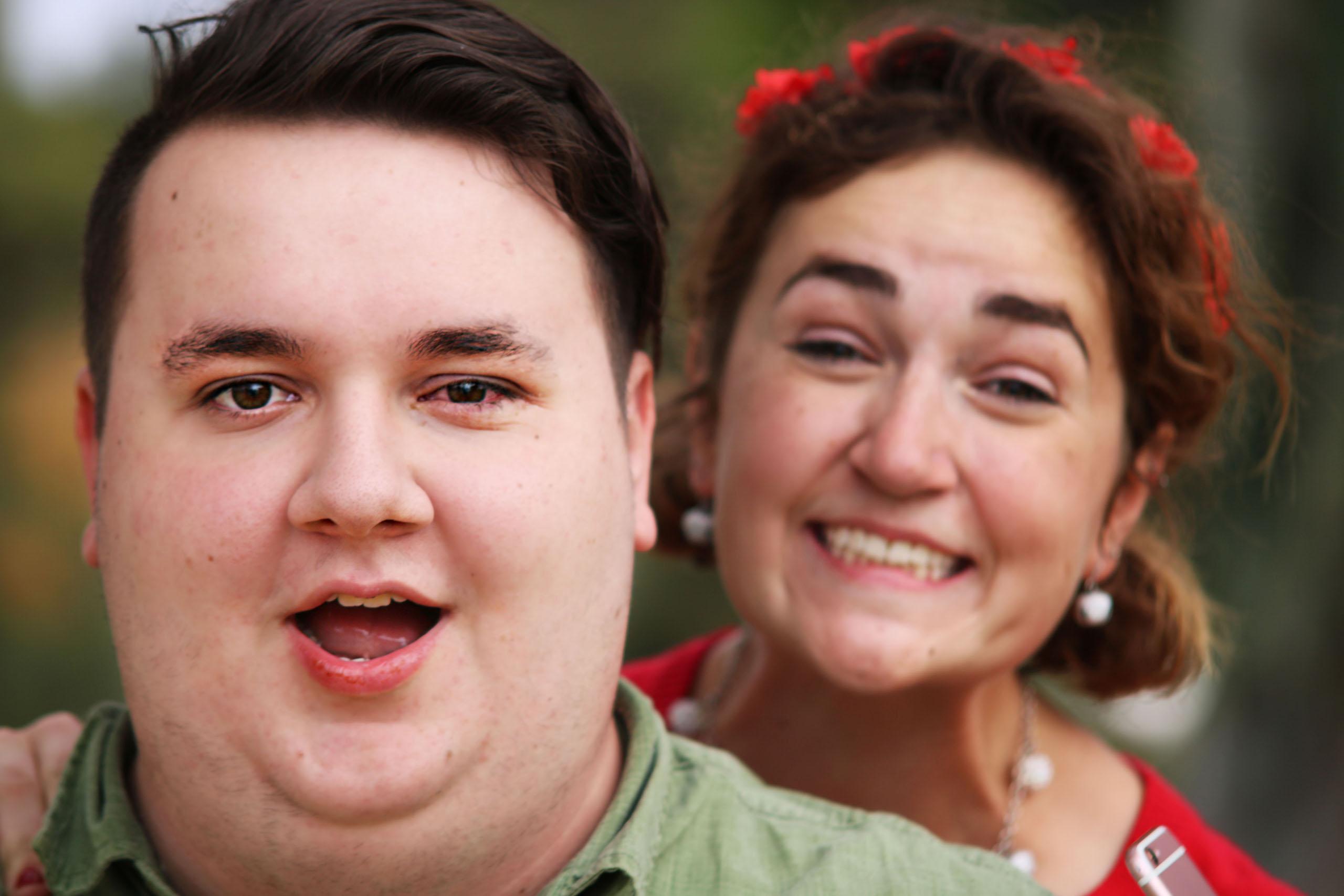 Jacob with Megan
