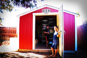 Tuff Shed (aka: The Little Red Barn)
